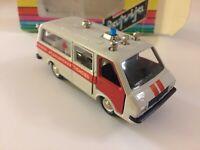 Vintage Soviet 1986 RAF-M22031 Latvija Ambulance 1:43 USSR Russia in Box