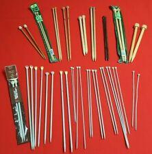 Lot 260 Knitting Needles Aero 130 Sets Pairs Mixed Size Vintage Aluminum Metal