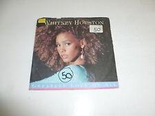 "WHITNEY HOUSTON - Greatest Love Of All - 1986 German 7"" Juke Box Vinyl Single"