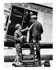 Boeing Air Transport Vintage Uniformed Flight Attendant