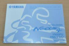 Sachbücher Yamaha Neos 4 Yn50fu Fmu Niederländisch Gebruiksaanwijzing Bedieningsinstructies Auto & Verkehr