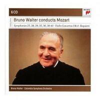 BRUNO WALTER - BRUNO WALTER CONDUCTS MOZART 6 CD CLASSIC W. A. MOZART NEW+