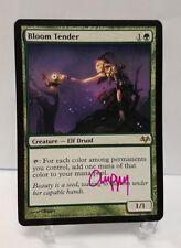 Bloom Tender - Eventide - ARTIST SIGNED Magic the Gathering MTG Card NM/LP