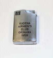 Hadson Blue Bird Lighter Kadena Airman's Club Okinawa 1959 Lighter