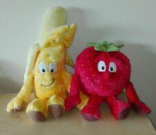 Vitamini coop fragola + banana peluche superfeschi Lidl Goodness Gang plush toys