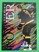 1994-95 Fleer Flair Scoring Power #1 Of 10 Pavel Bure Vancouver Canucks Insert