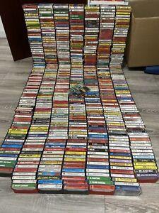 Mega Musikkassetten Sammlung (über 620 Stück!)