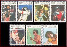 CAMBODGE N°917/923** JO 1992 Espagne, 1990 CAMBODIA Olympic Games NH Kambodscha