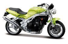 MAISTO 1:18 Triumph SPEED TRIPE MOTORCYCLE BIKE DIECAST MODEL TOY NEW IN BOX