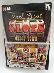 Phantom EFX Reel Deal Slots: Ghost Town 2 CDs and manual Pre-owned Free Ship