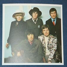 More details for the rolling stones   original 1967 colour photo card