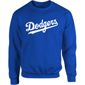Los Angeles Dodgers Wordmark Sweater Sweatshirt Shirt LA LAD Men