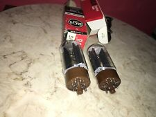 Pair of RCA 5R4GYB Rectifier tubes - Tested - NOS/NIB