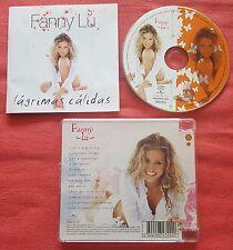 Latin Pop FANNY LU **Lagrimas Calidas** RARE COVER Spain CD 2005