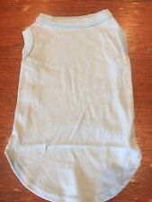 L LIGHT BLUE Blank T-Shirt Dog clothes NWT NEW! Make Your Own DIY Large