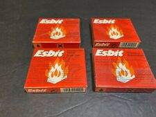 lot of 4 SOLID FUEL TABLETS ESBIT TROCKEN & FIRE STARTER CUBE FOR STEAM ENGINE