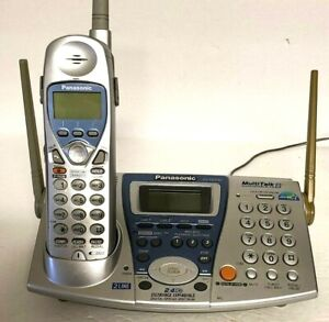 PANASONIC KX-TG2740 Multi Talk CORDLESS PHONE BASE & Handset Tested Works 100%