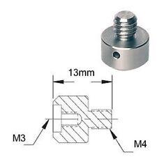 Adaptateur de filetage - M3 M4 - Thread adapter adaptor External Internal Metric