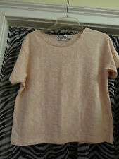 EXTRA ENERGY Ladies Womens Top Blouse Light Pink Size Medium