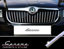 Skoda Superb and Combi II 3T Type Chrome Trim for Radiator Grill Upper 3M Type2