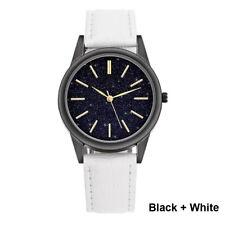 Men's Sport Watch Genuine Leather Strap Automatic Wrist Watch Quartz Watches