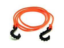 "Gear Head RC 1/10 scale 24"" Tow Rope with Hooks, Neon Orange GEA1183"