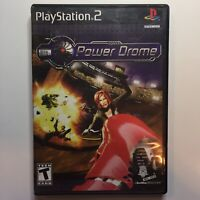 Power Drome PS2 Sony PlayStation 2 Video Game Tested Fast Shipping