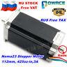 【В Росси】Nema23 112mm Stepper Motor 425Oz-in CNC Dual Shaft 3A 3D Printer Router