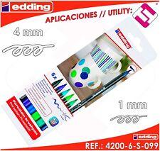 Rotul Edding 4200 porcelana col frios est de 6