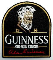 Star Wars Alec Guinness Obi-Wan Kenobi 1914 Memorial Embroidered Patch