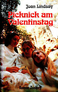 PICKNICK AM VALENTINSTAG - Joan Lindsay BUCH ( Missing 411 )