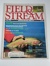 Field & Stream Magazine- July 1986- The Pronghorn Primer, Bass You Can Bank On