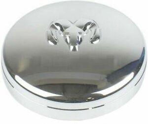 DODGE Ram 3500 4500 5500 Chrome FRONT DUALLY Wheel center cap NEW OEM MOPAR