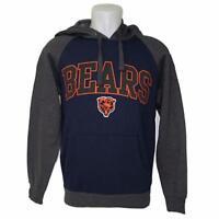 NFL Men's Chicago Bears Hoody Sweatshirt Small-3X Football Team Apparel Hoodie