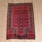 Vintage Rug Beluchi Wool 125 X 90 Cm Baluchi