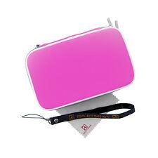 Nintendo Tasche Schutzhülle Hard-Case pink für New Nintendo 3DS, 2DS XL, DSi XL