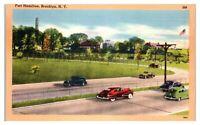 Fort Hamilton, Brooklyn, NY Postcard *5F13