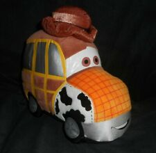 DISNEY STORE EXCLUSIVE CARS CORE WOODY CAR PIXAR STUFFED ANIMAL PLUSH TOY STORY