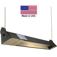 Infrared Heater - 5120 BTU - 120 V - 260 Sqft - Indoor Outdoor - Quartz - Brown