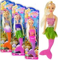 Wholesale Mermaid Dolls w/ Changeable Outfit Assorted Colors (Pack of 20)