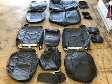2003 04 2005 2006 2007 Chevrolet Silverado Crew Cab Katzkin Leather Seat Covers
