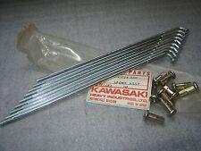 KAWASAKI REAR OUTER SPOKES 10 F11 F11M 1973 73 1974 74 1975 75 NOS OEM 41028-050