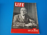 Magazine Vintage Life Magazine January 4 1943 Jimmy Byrnes