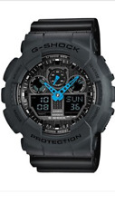 CASIO  G-Shock GA-100C-8A  GA-100  Mens Watch 200m   Diver  GA100  With Box