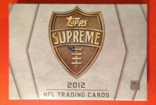 2012 Topps Supreme Football HOBBY Box Andrew Luck AUTO? High-End Low-# RC AU