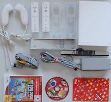 Wii Konsole New Super Mario Bros. Pak 2 Spieler Set alles original von Nintendo