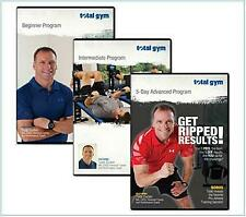Total Gym Complete Workout Series w/Master Trainer Todd Durkin 3 DVD's