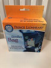 NIB PRINCE LIONHEART Stroller Bag - Navy Blue Net  ($12.95)