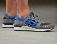 "New ASICS Tiger Gel Lyte III 3 Grey Supreme Men""s Running Shoes Size 11.5 US"