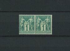 SAGE - 1876 YT 61 paire - TIMBRES NEUFS** MNH LUXE